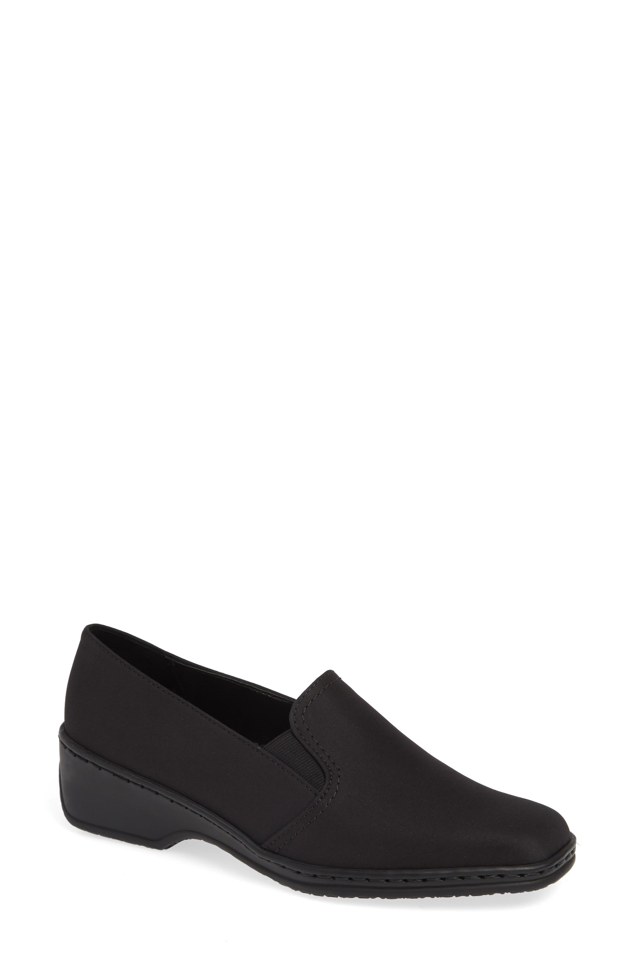 Ara Rabina Wedge Loafer, Black