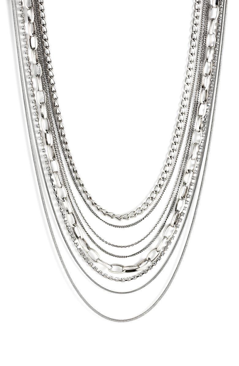 TASHA Multi Chain Long Necklace, Main, color, 045