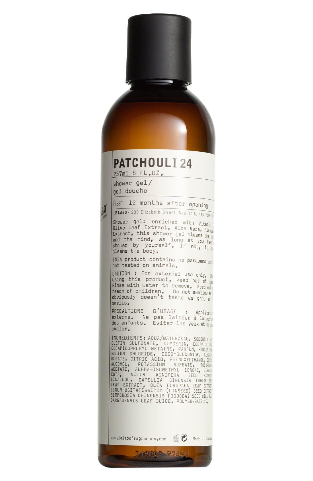 Patchouli 24 Shower Gel