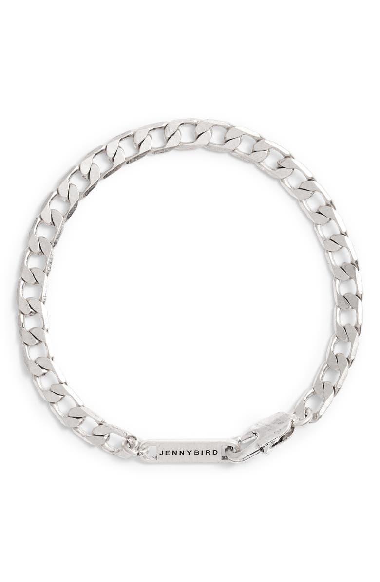JENNY BIRD New Core Chain Bracelet, Main, color, SILVER