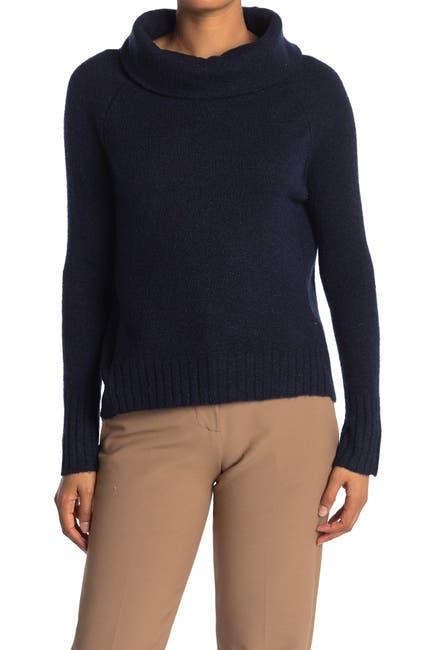 Image of Cloth By Design Birds Eye Plush Turtleneck Sweater