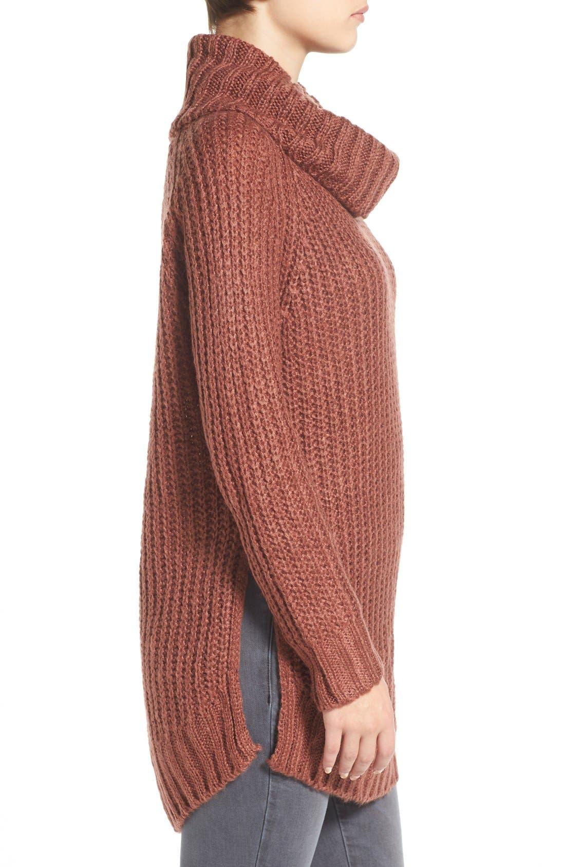 ,                             Cowl Neck Sweater,                             Alternate thumbnail 32, color,                             600