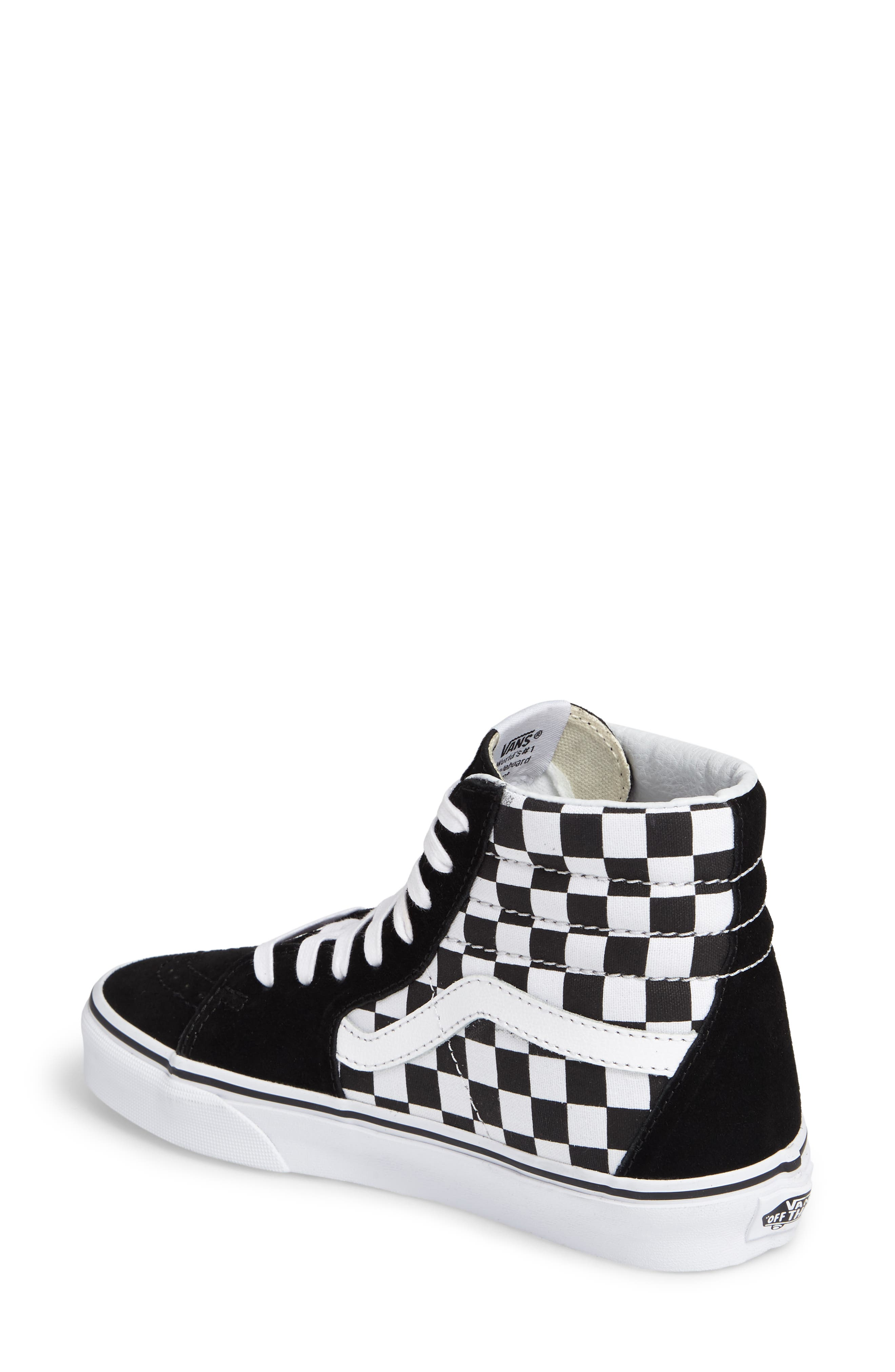 ,                             Sk8-Hi Checker Sneaker,                             Alternate thumbnail 30, color,                             002