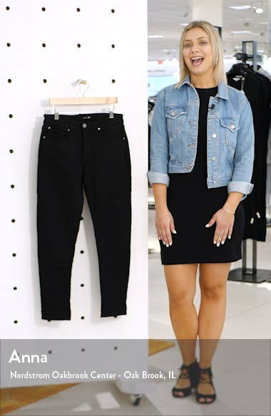 Soder Relaxed Slim Crop Stretch Denim Jeans, sales video thumbnail