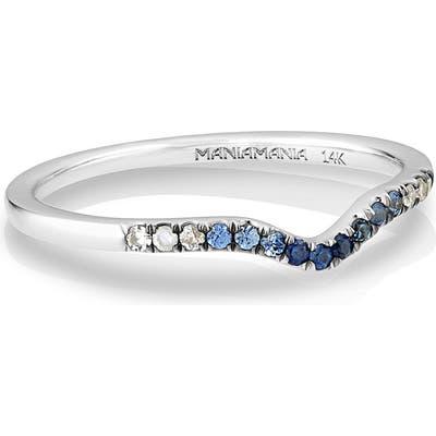 Maniamania Unity Gradient Sapphire Band Ring
