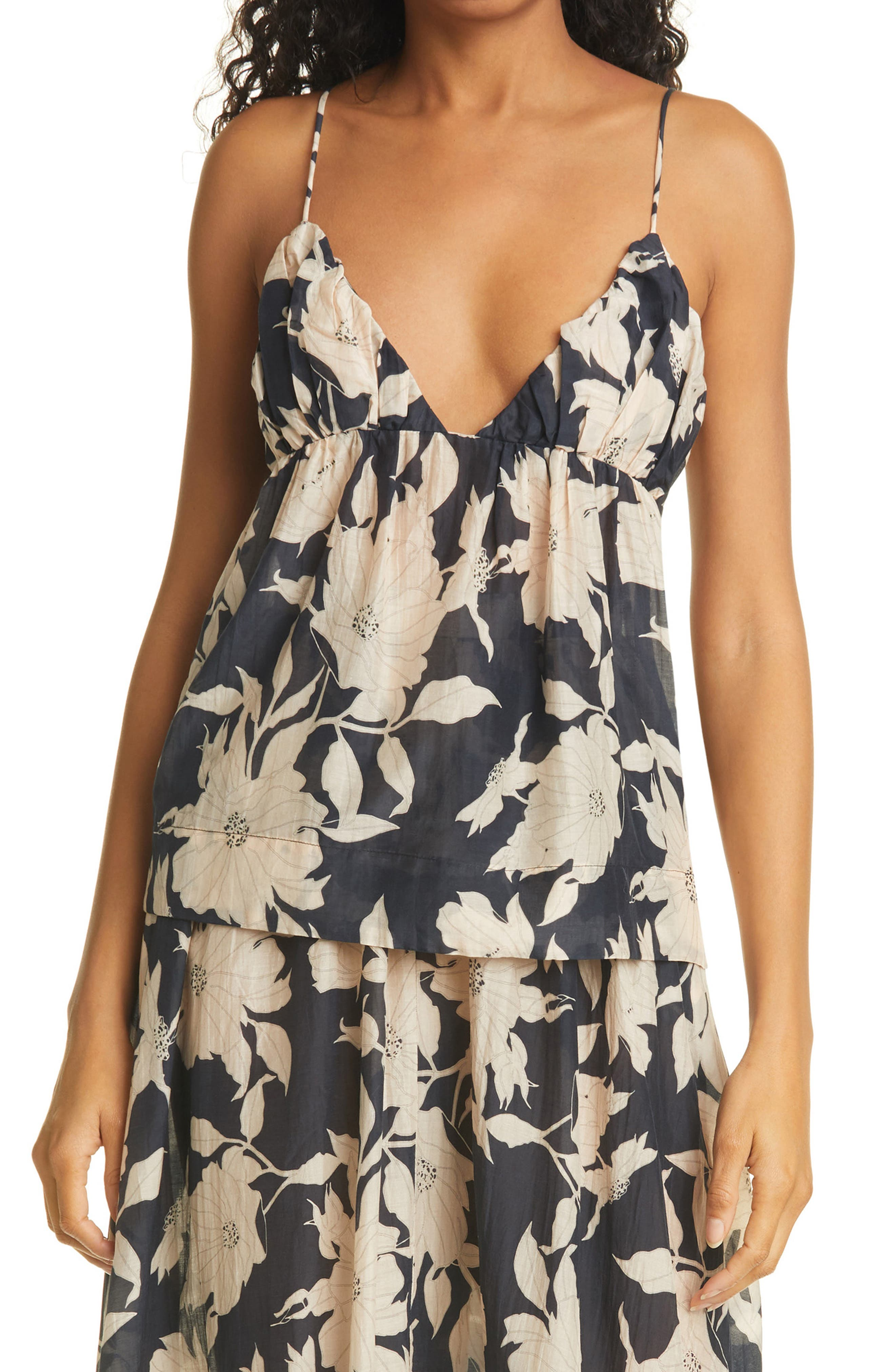 Olada Floral Print Camisole