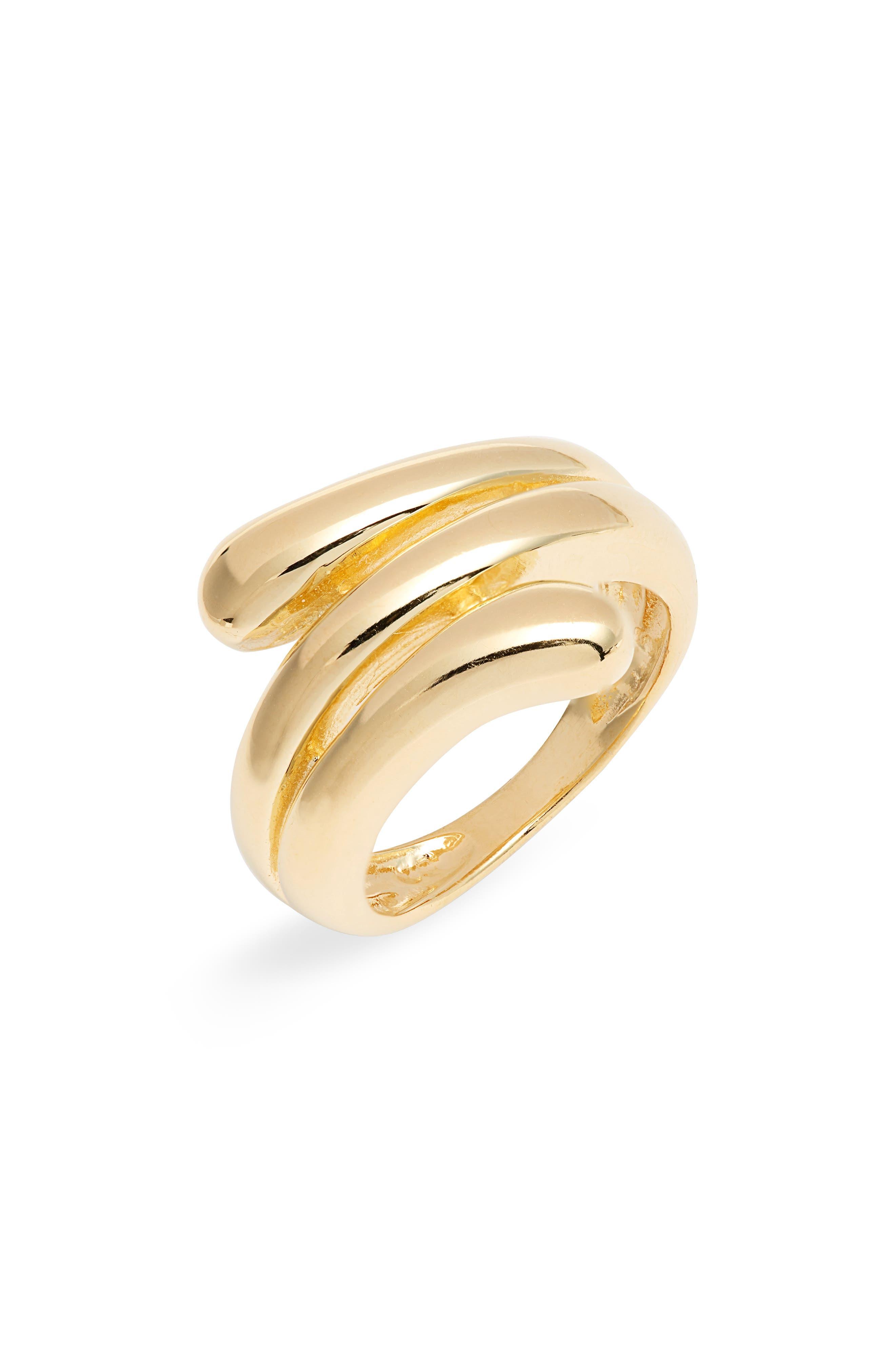 Women's Argento Vivo Wrap Ring