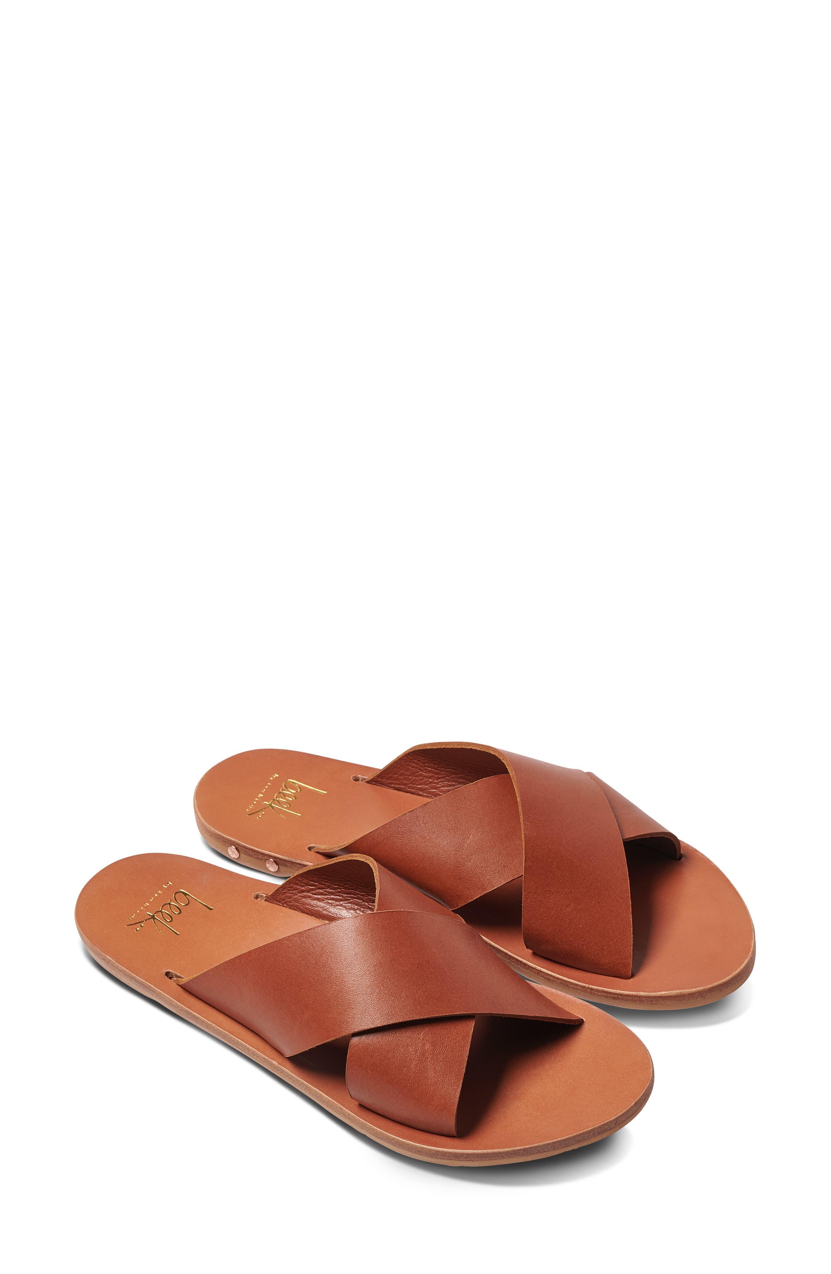 Palila Crisscross Slide Sandal