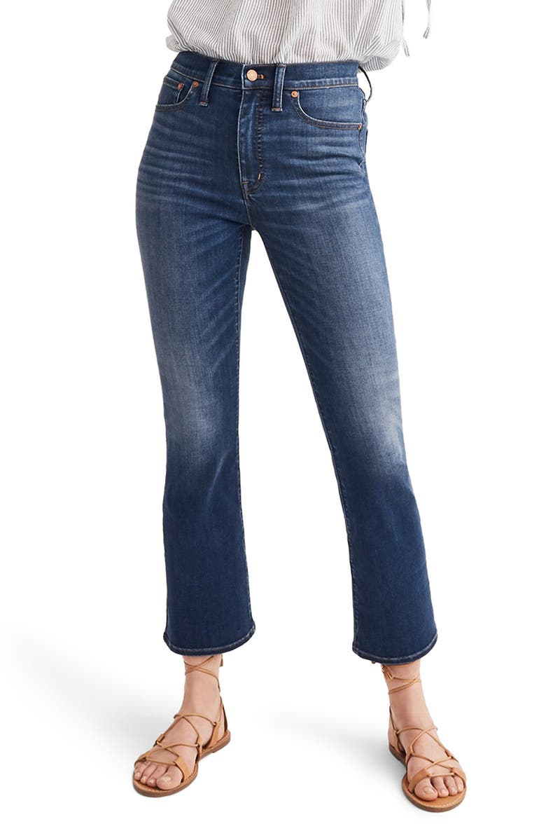MADEWELL Cali Demi-Boot Jeans, Main, color, DANNY WASH