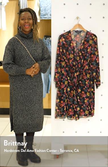 Emma Floral Print Long Sleeve Dress, sales video thumbnail