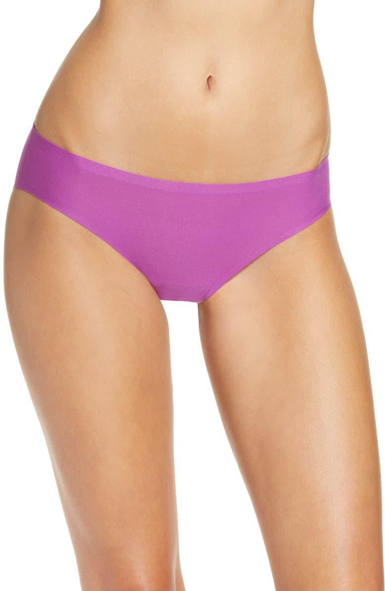 CHANTELLE LINGERIE Soft Stretch Bikini, Main, color, ORCHIDEE