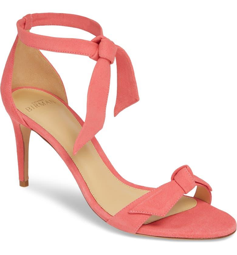 ALEXANDRE BIRMAN Clarita Ankle Tie Sandal, Main, color, 680