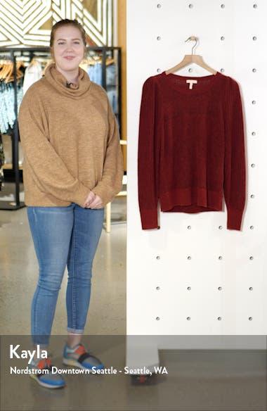 Fluffy Alpaca & Wool Blend Sweater, sales video thumbnail