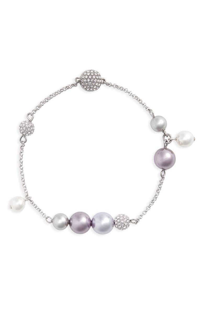 SWAROVSKI Remix Crystal Bracelet, Main, color, PURPLE