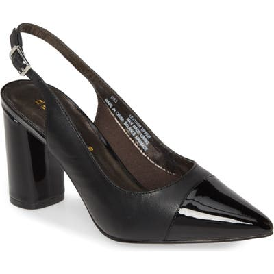 David Tate Genesis Slingback Pump- Black