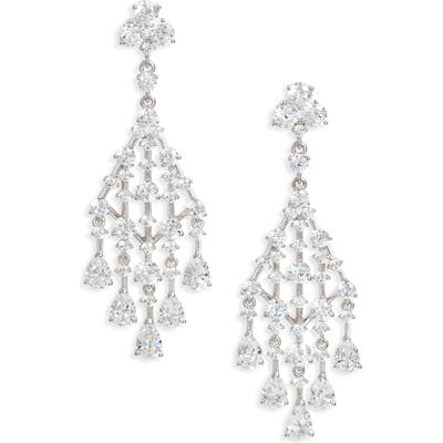 Nadri Evie Chandelier Earrings