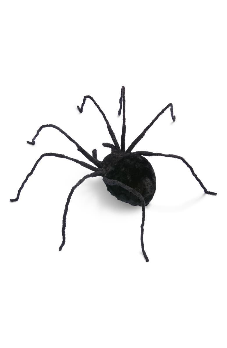 ALLSTATE Giant Faux Fur Spider Decoration, Main, color, 001
