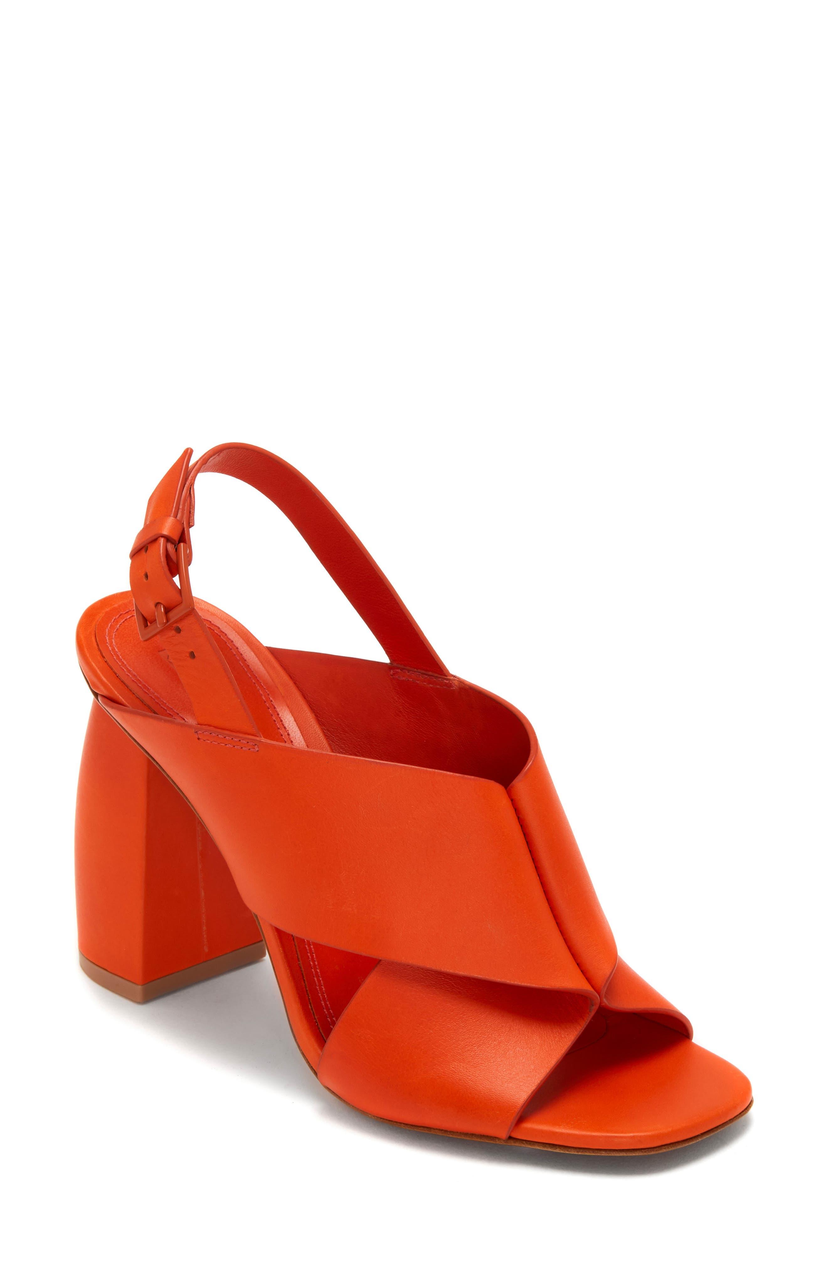 Mercedes Castillo Hae Slingback Sandal- Orange