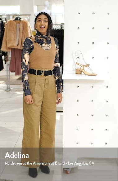 Clarita T-Strap Sandal, sales video thumbnail