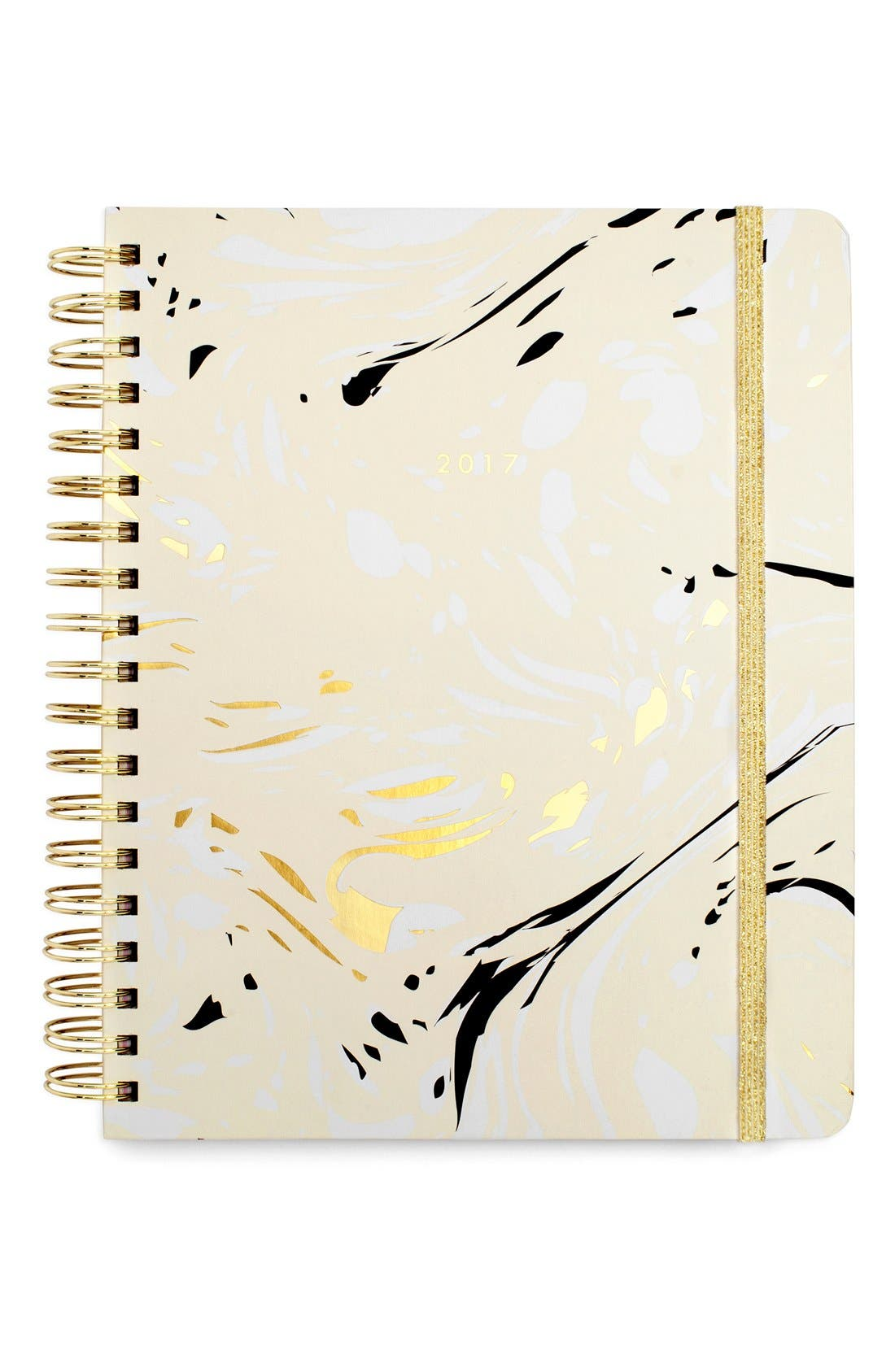 Large Hardcover 17-Month Agenda, Main, color, 100