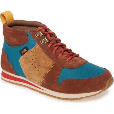 Teva Highside 84 Mid Top Sneaker, Brown