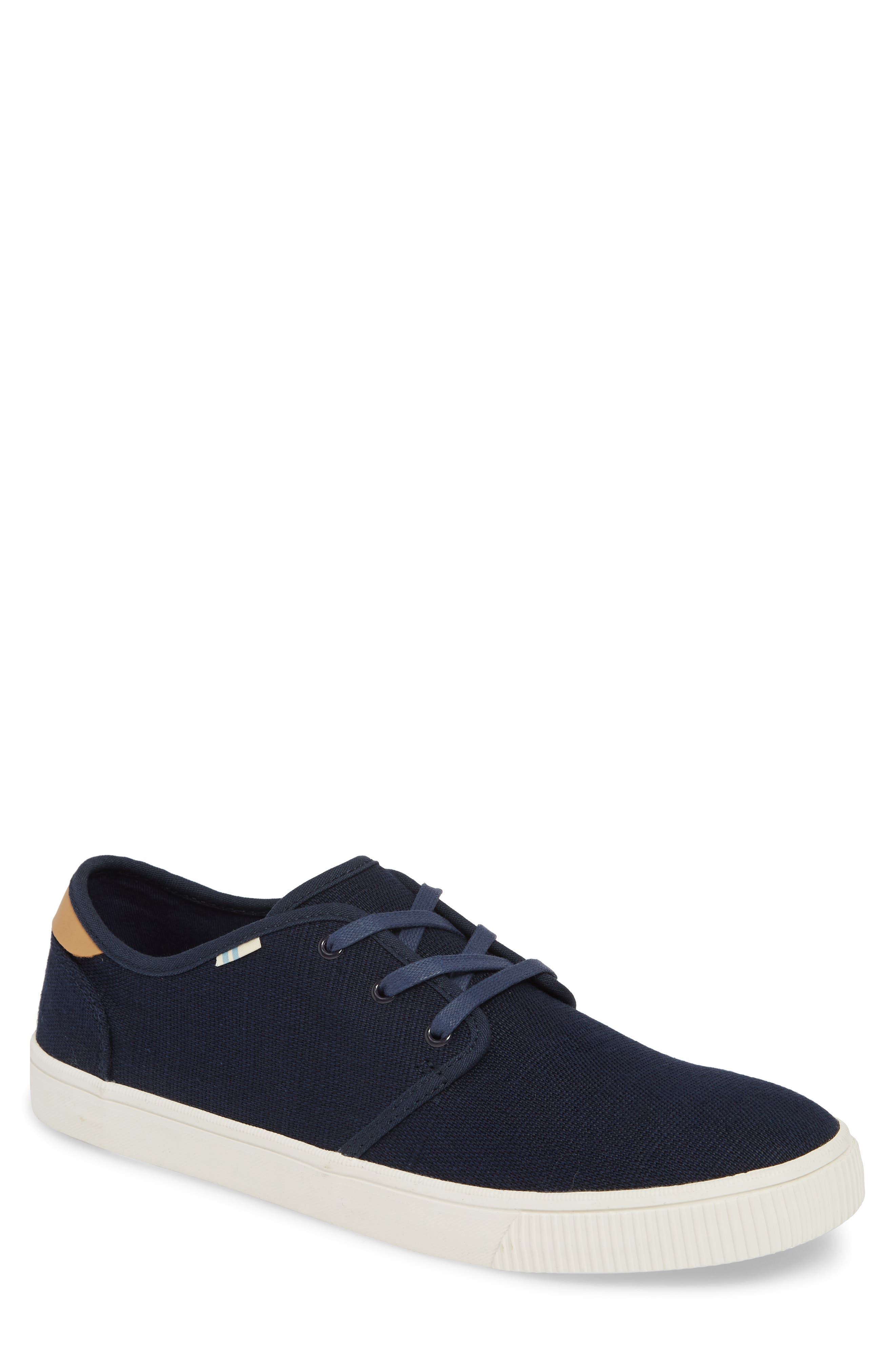 Toms Carlo Low Top Sneaker, Blue