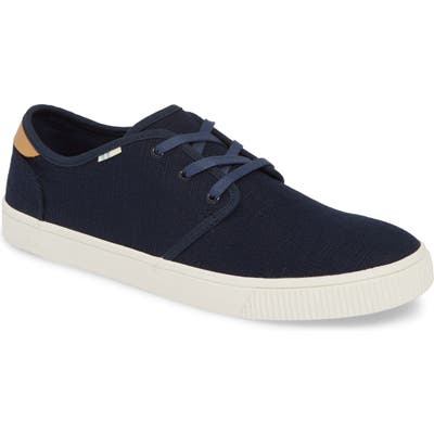 Toms Carlo Low Top Sneaker, Blue