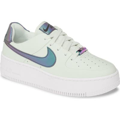 Nike Air Force 1 Sage Low Lx Sneaker- Black
