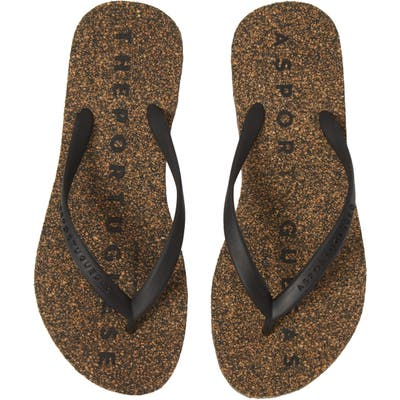 Asportuguesas By Fly London Base Flip Flop, 9/40 - Black