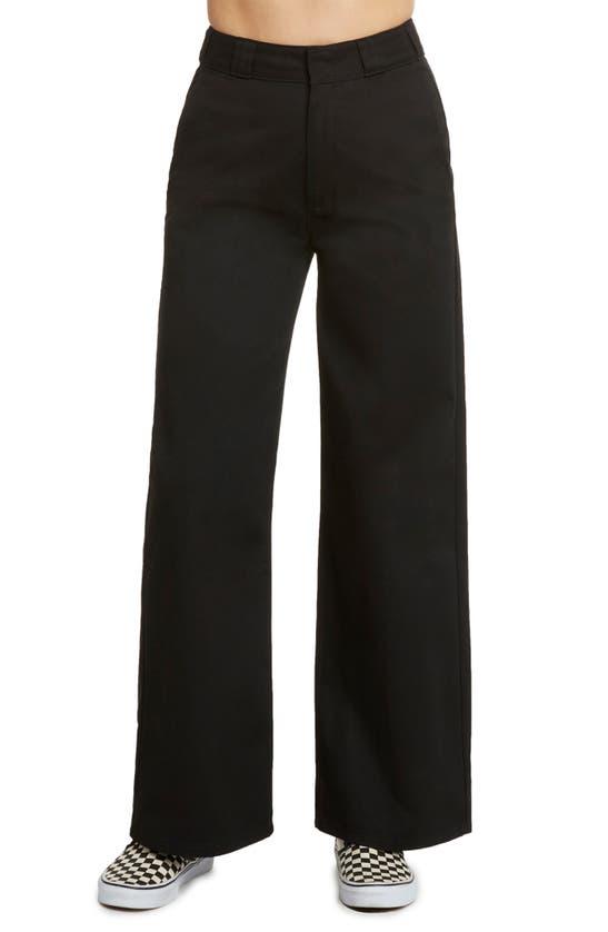 Dickies Juniors' Ankle-length Work Pants In Black