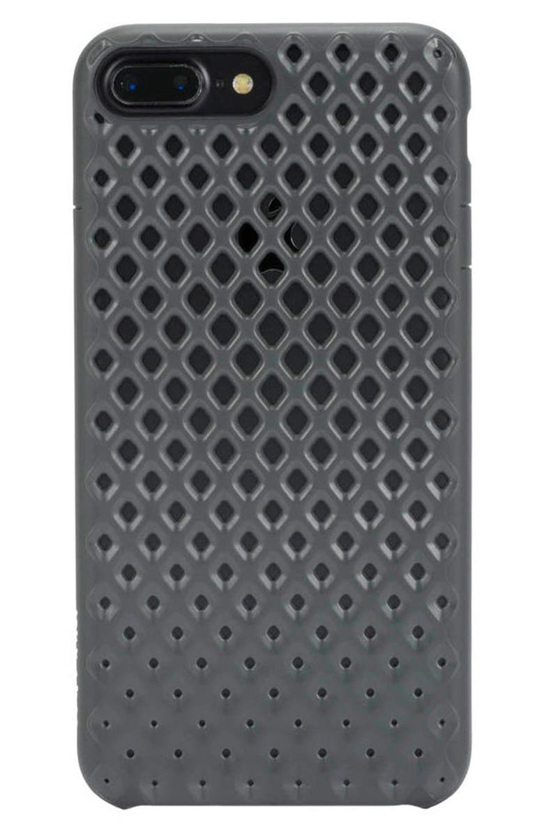 INCASE DESIGNS Lite iPhone 7 Plus & 8 Plus Case, Main, color, GUNMETAL
