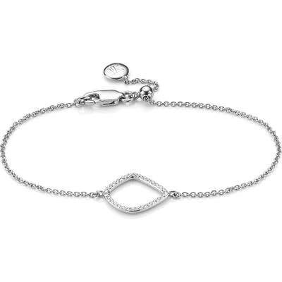 Monica Vinader Riva Kite Adjustable Diamond Bracelet