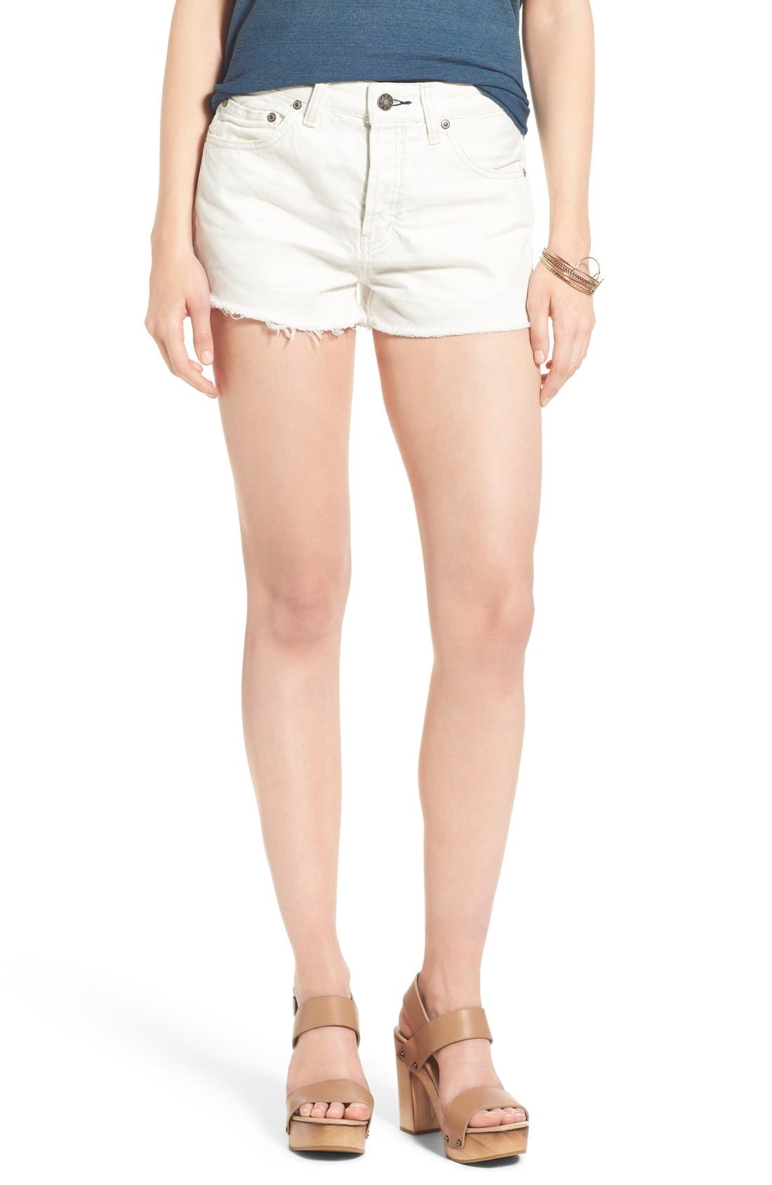 ,                             'Uptown' Denim Shorts,                             Main thumbnail 6, color,                             137