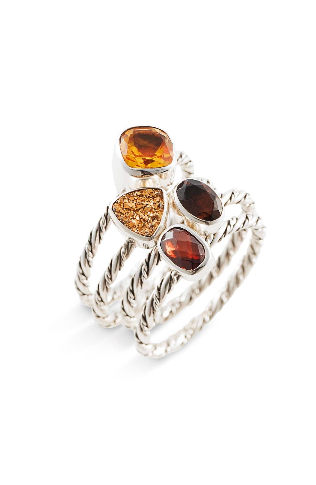 'Spice of Life - Allspice' Stacking Rings, Main, color, 200