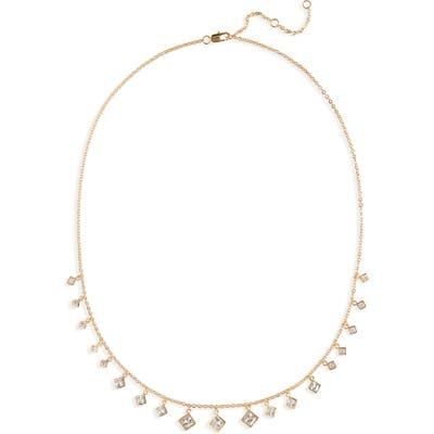 Nordstrom Shaky Cubic Zirconia Necklace