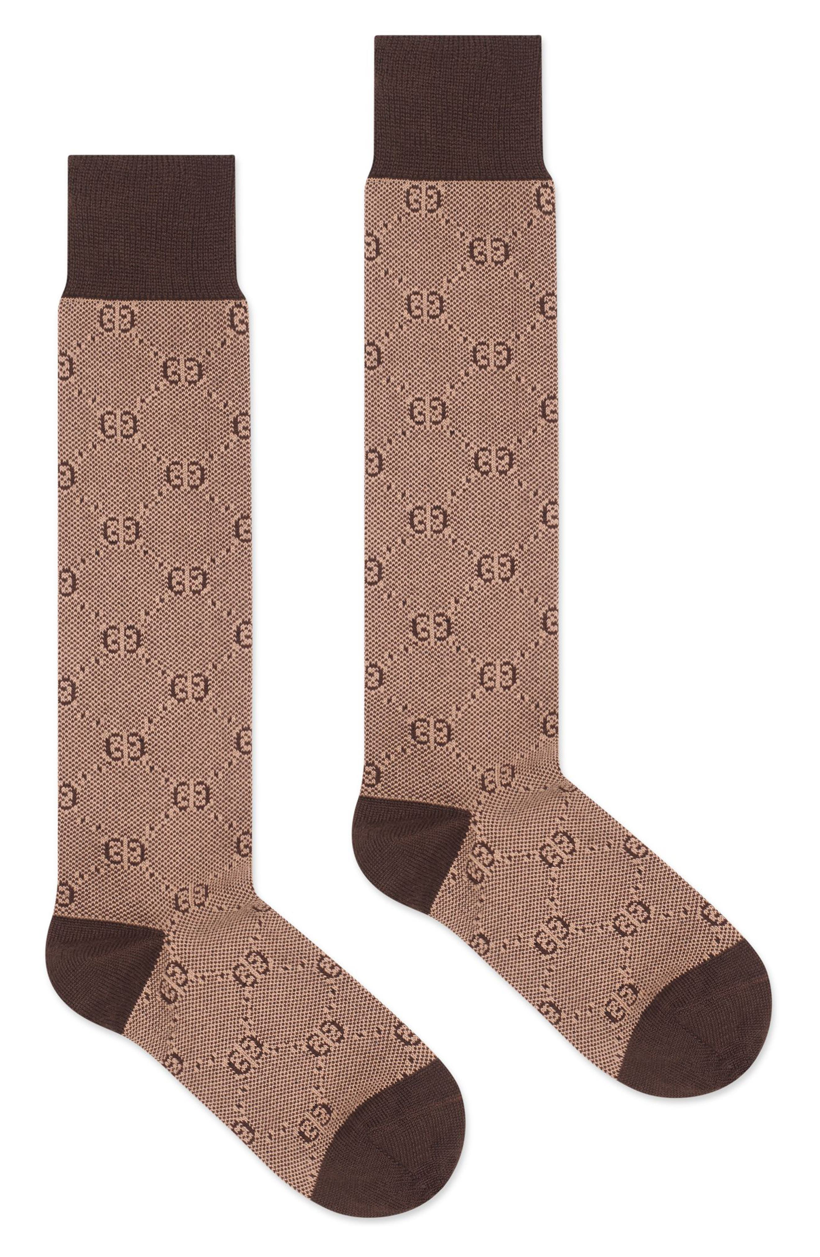 GG Knee-High Socks, Main, color, 235