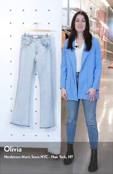Le Pixie High Waist Released Flare Jeans, sales video thumbnail