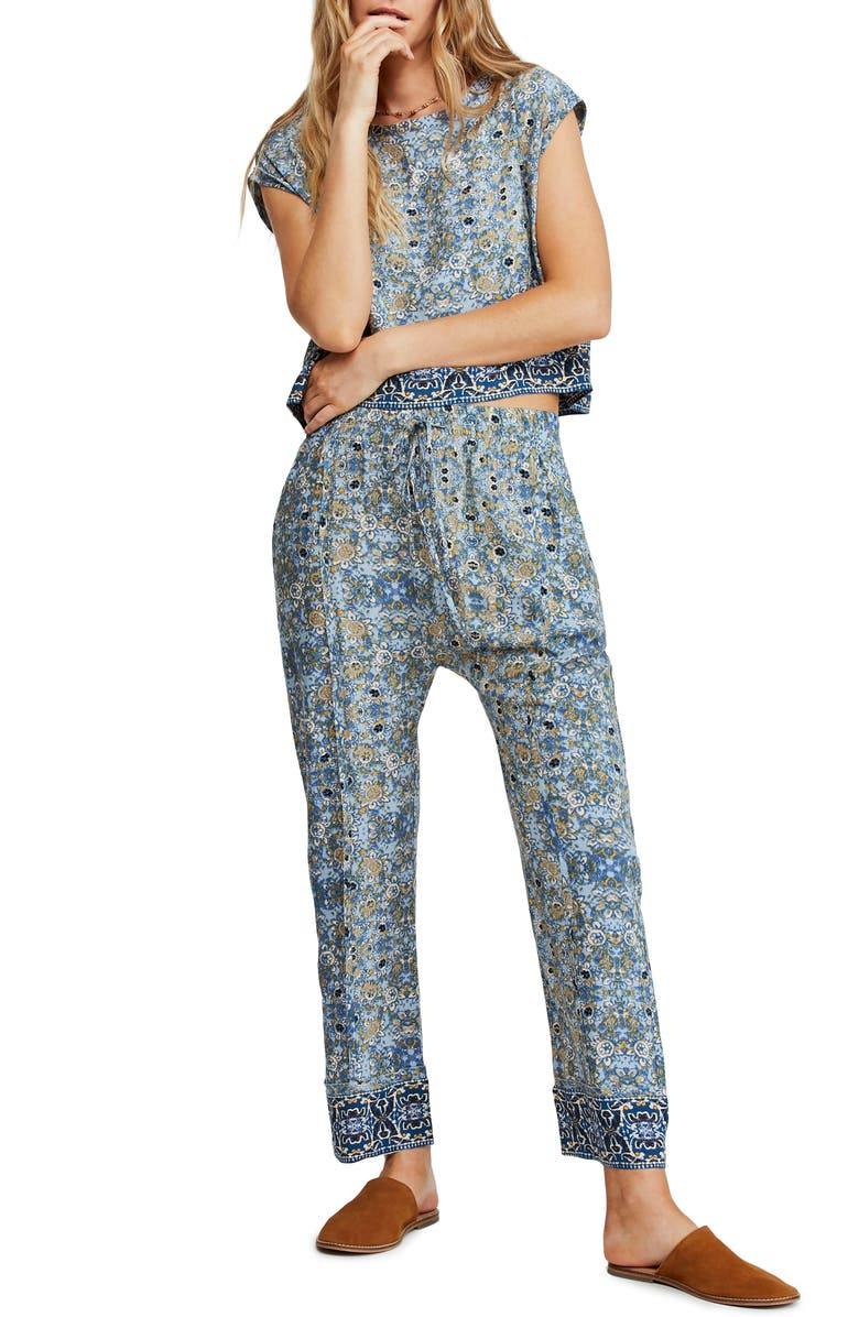 Make My Day Tapestry Print Top & Pants by Free People