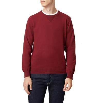 French Connection Regular Fit Crewneck Sweater, Red