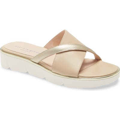 Patricia Green Madrid Slide Sandal, Beige