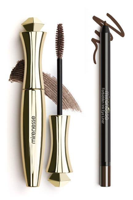 Image of Mirenesse Natural Brown Mascara + Liner Duo