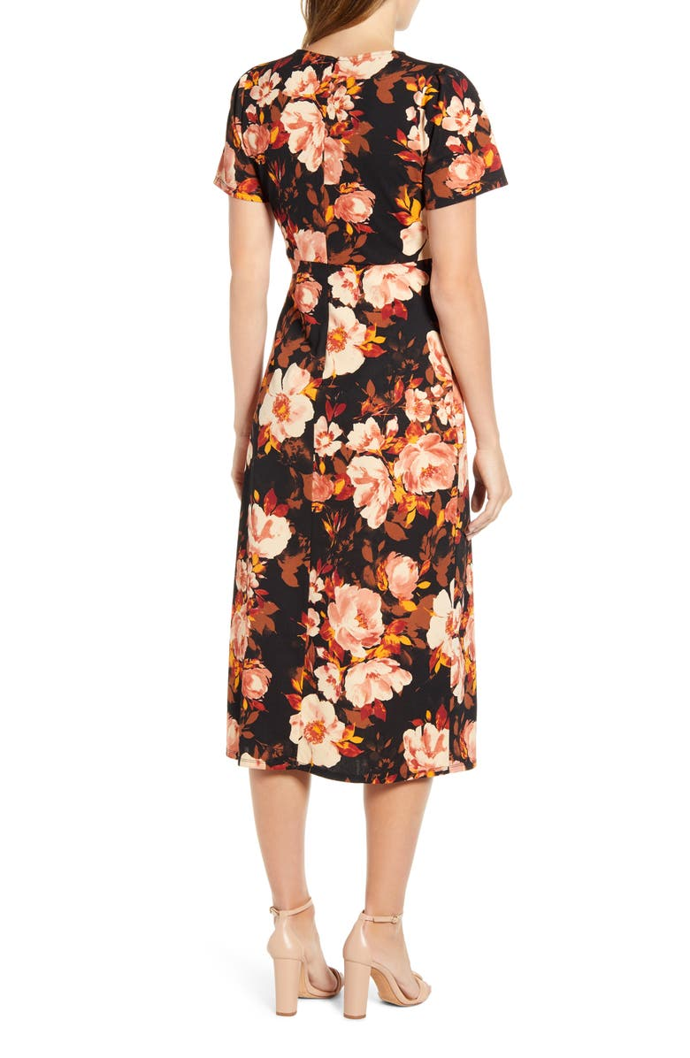 X Fall Refresh Puff Sleeve Dress by Gibson