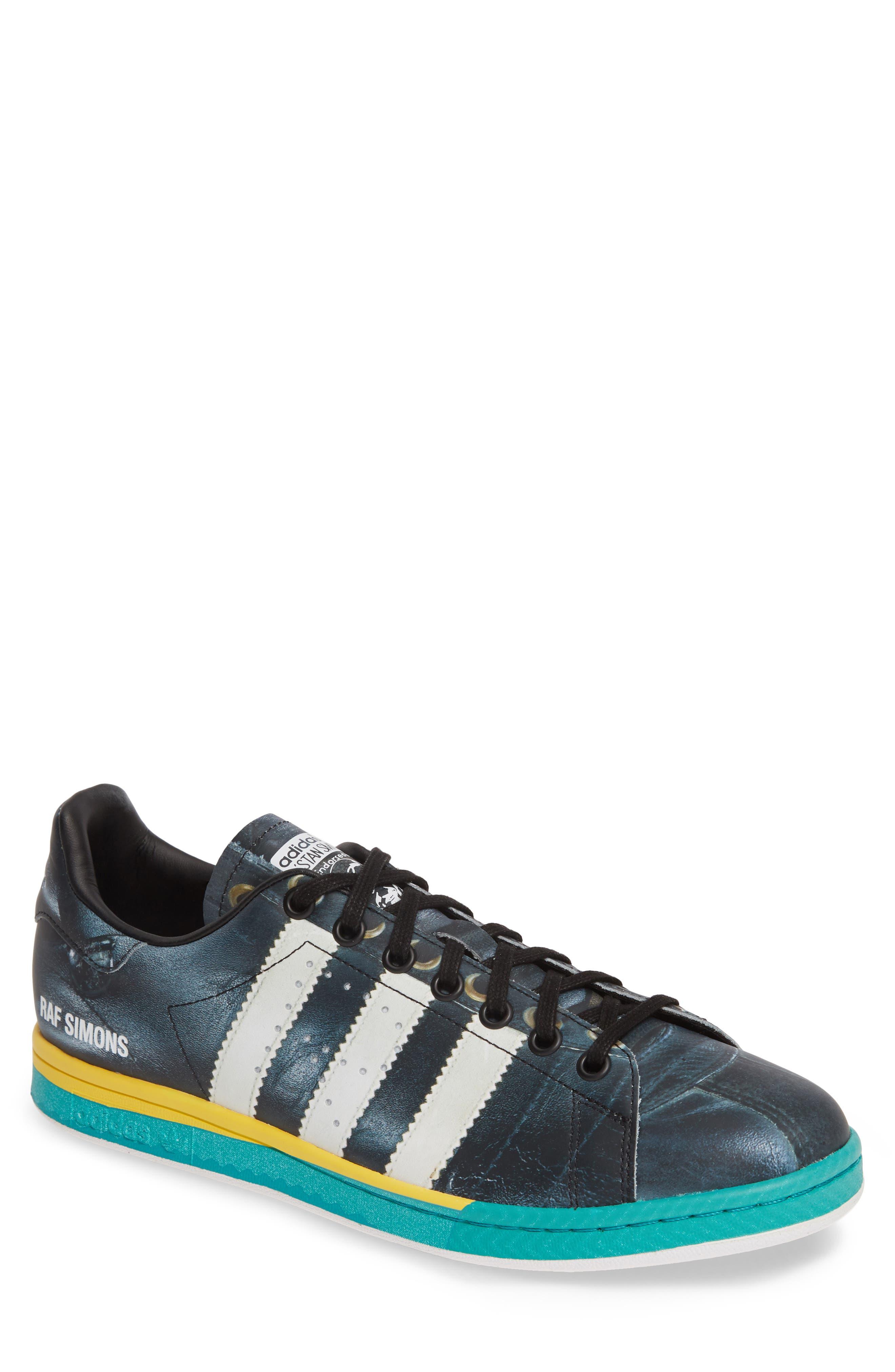 Adidas By Raf Simons Samba Stan Sneaker- Black