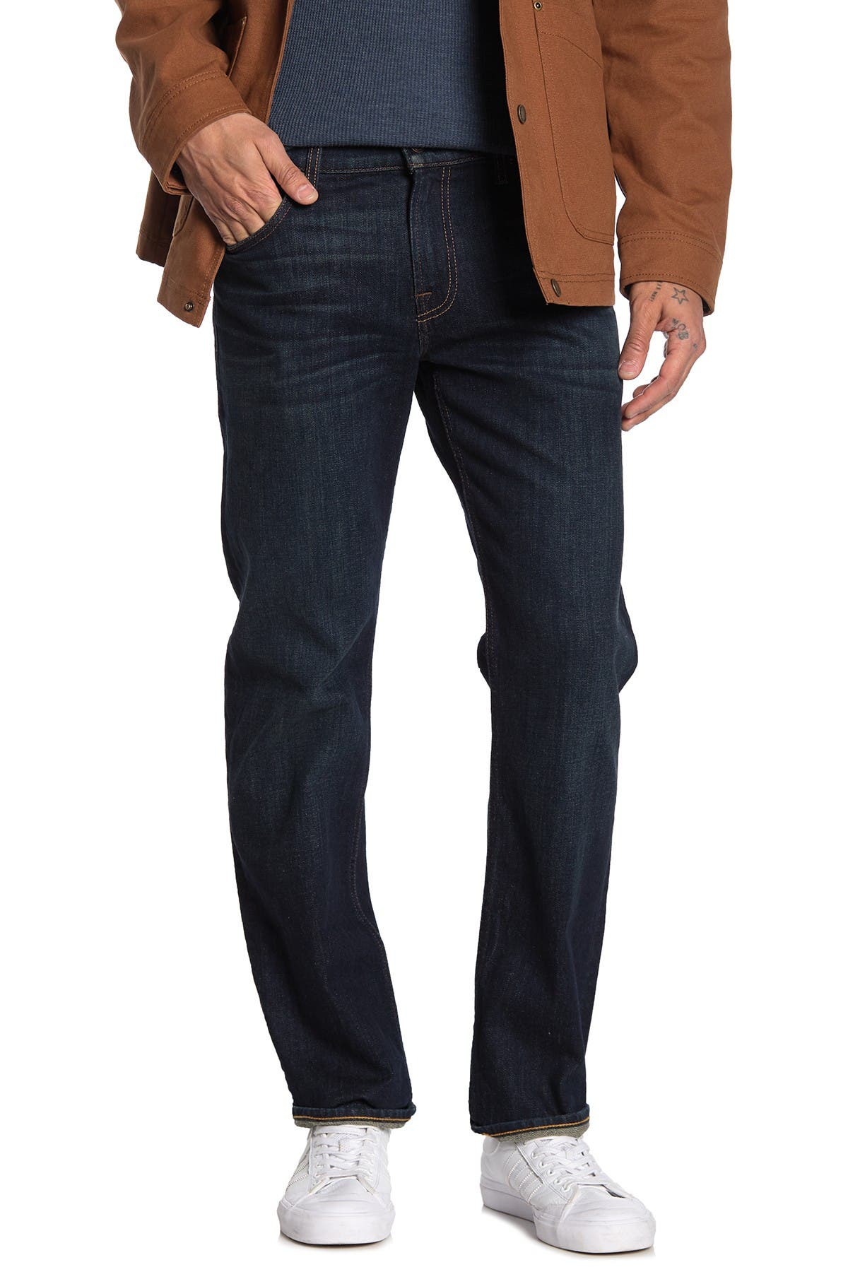 Image of 7 For All Mankind Standard Slim Straight Jeans