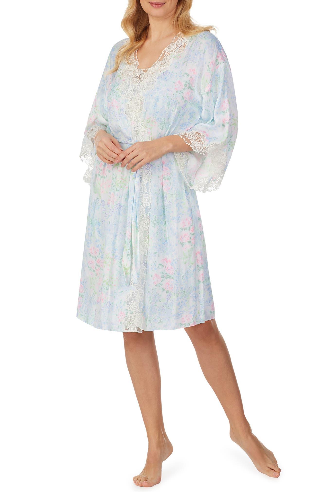 Soft Satin Short Robe
