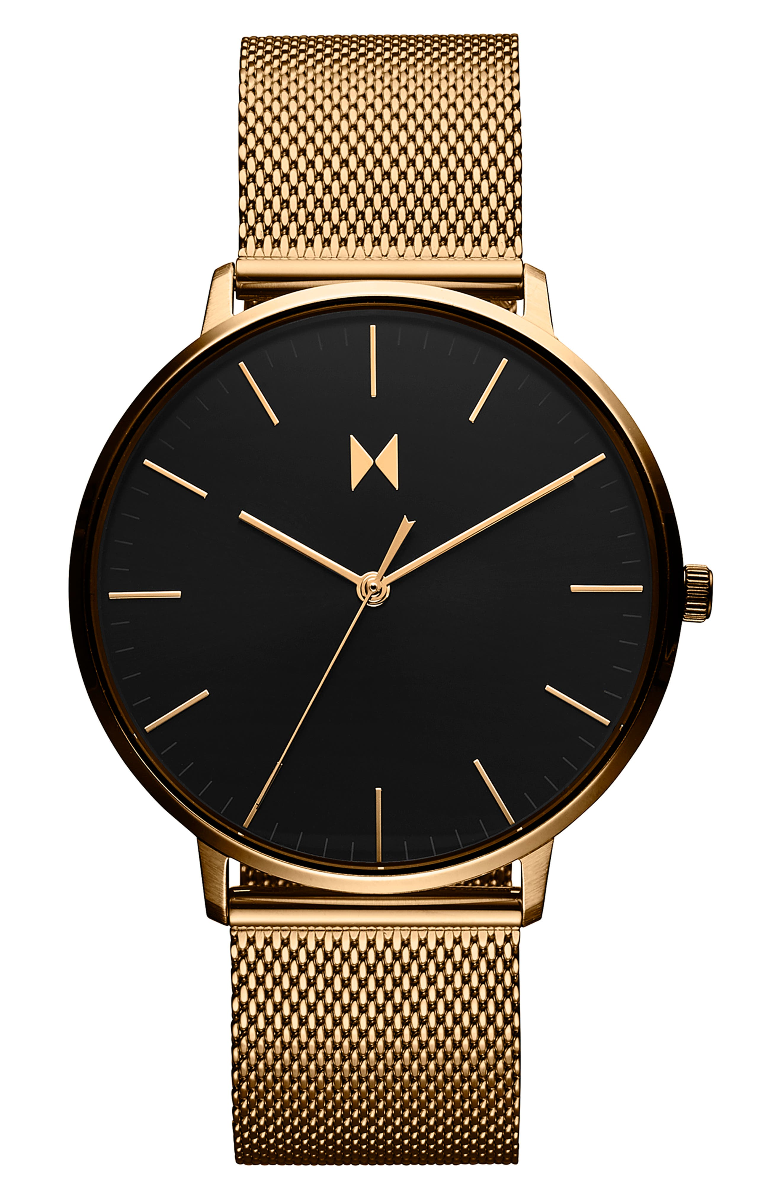 Legacy Slim Mesh Strap Watch