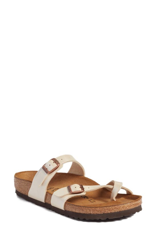 Birkenstock Women's Mayari Birko-flor Casual Sandals From Finish Line In Antique Lace