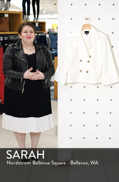 Fauvist Trench Style Waist Jacket, sales video thumbnail
