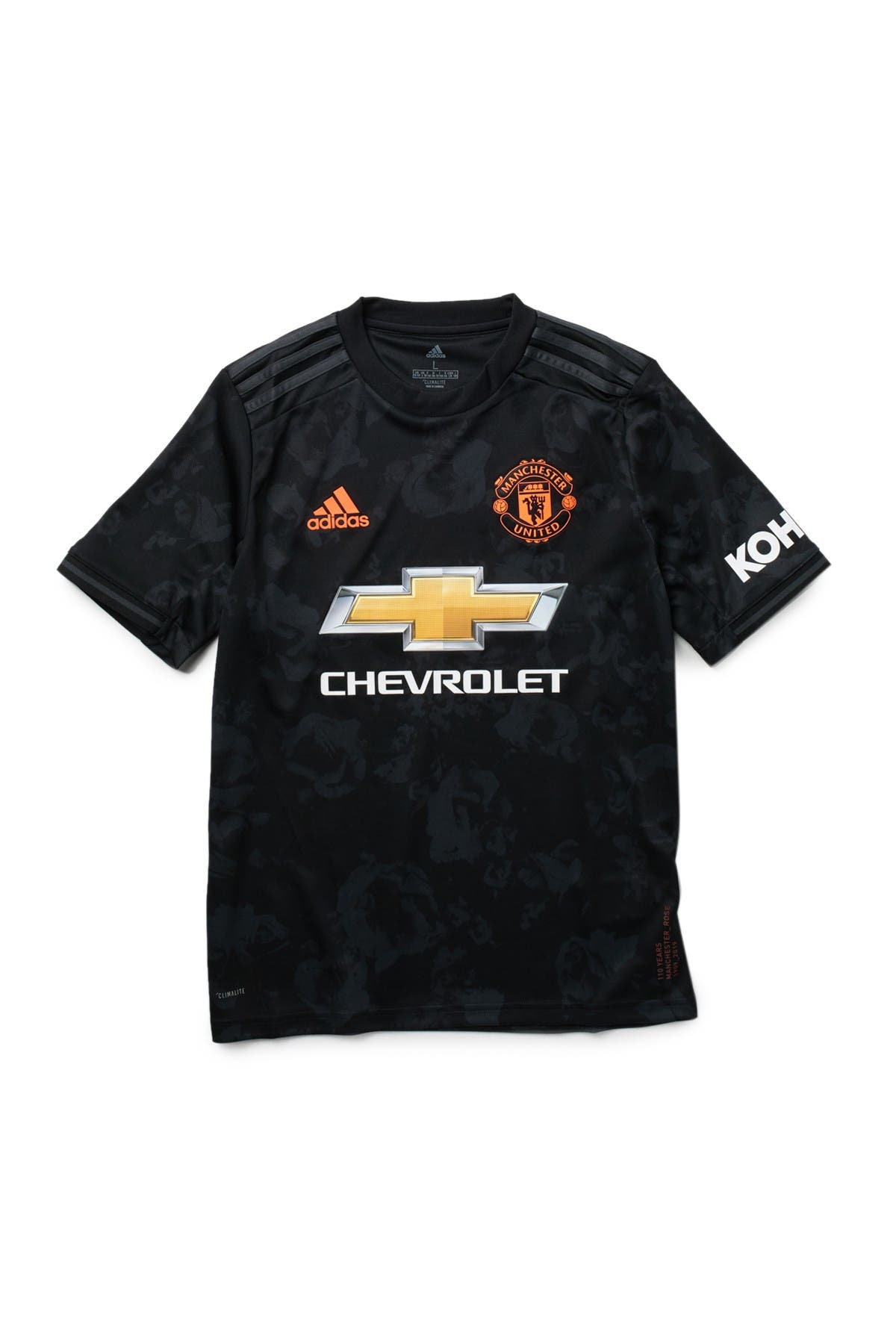 Image of ADIDAS ORIGINALS Manchester United Football Club 3 Soccer Jersey