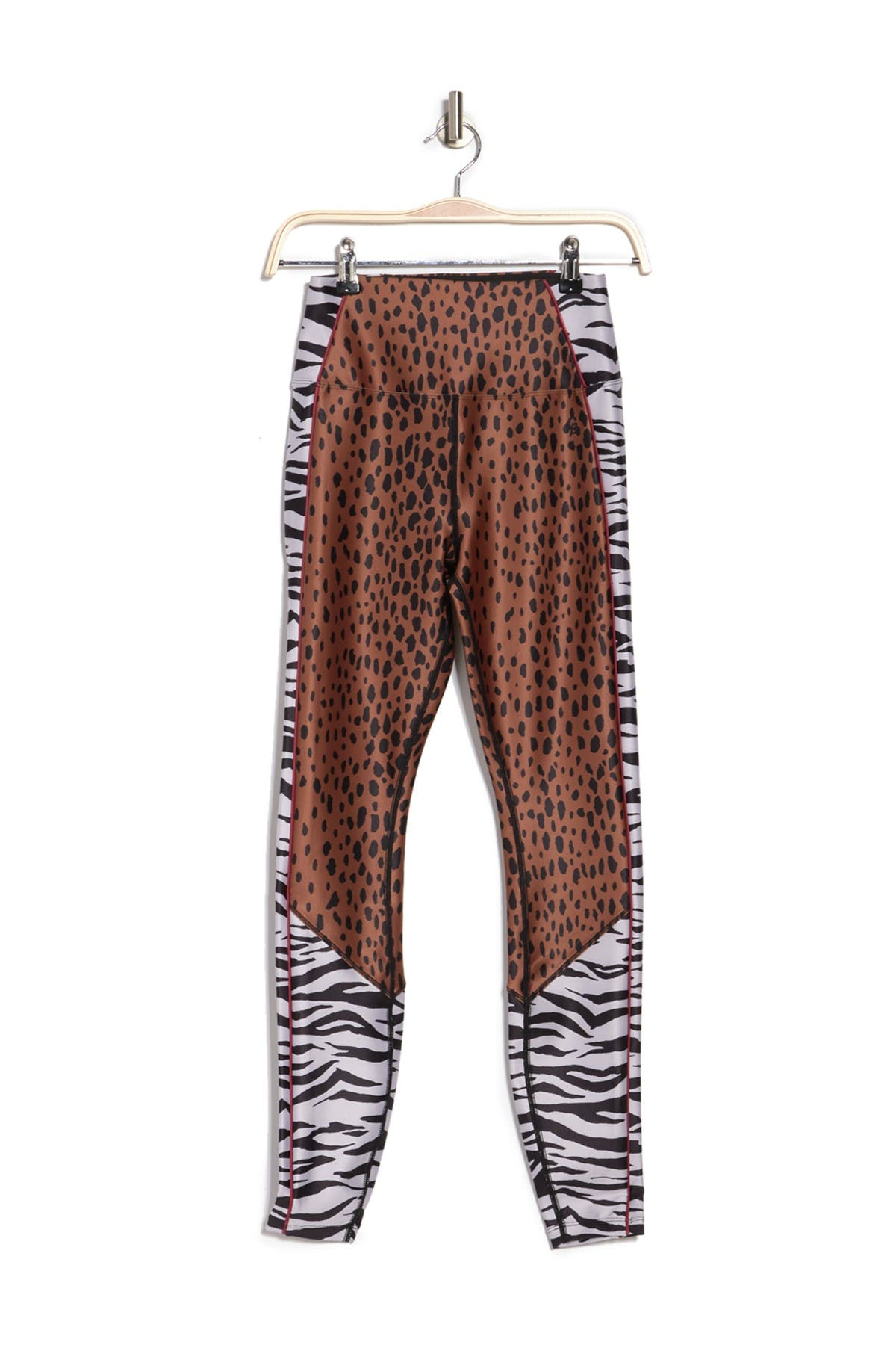 Image of Good American Mixed Animal Print High Waist Leggings